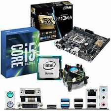 Intel Core i5 6600k 3.5ghz & ASUS h110m-a - CPU scheda madre & Bundle