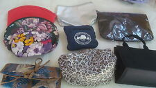 PURSE Lot 9 Purses Organizers Travel Jewelry Shopping Display Assortment