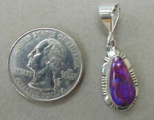 BEAUTIFUL SOUTHWEST INSPIRED SUGILITE AND .925 STERLING SILVER PENDANT
