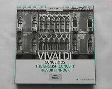ENGLISH CONCERT/T.PINNOCK - VIVALDI Concertos  EU 5CD box ARCHIV Prod 471 317-2