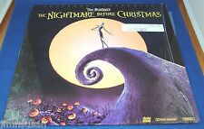 LD: DISNEY Laser Disc NIGHTMARE BEFORE CHRISTMAS Tim Burton ~ Jack SKELLINGTON
