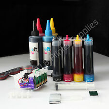 Non-OEM CISS CIS & extra set ink 127 126 For Epson workforce 3520 3540 7510 7520