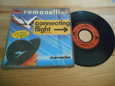 "7"" Pop Romanelli - Connecting Flight / Chain Reac (2 Song) POLYDOR ZDF Hitparade"