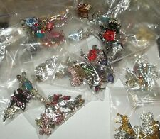 Puppy Bows ~  RHINESTONE BARRETTE dog bow CLEARANCE Grab bag