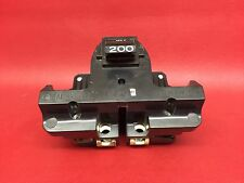 FEDERAL PACIFIC Stab-Lok FPE 200 Amp 2B Circuit Breaker 200A MAIN Chipped