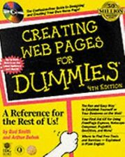 Creating Web Pages for Dummies (4th ed), Bebak, Arthur, Smith, Bud E., New Book