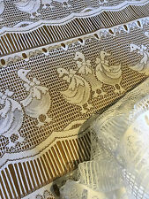 Français brodé polyester dentelle panneau d'affichage