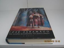 The Gospel according to Jesus Christ by Jose Saramago 1st/1st 1994 HC/DJ