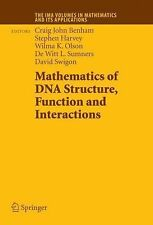Mathematics of DNA Structure, Function and Interactions 150 (2012, Paperback)
