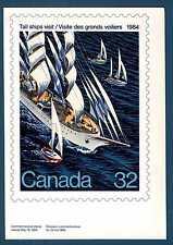 CANADA - 1984 - CART, POST. - 450 ° Ann. del primo viaggio di J. Cartier.E4181