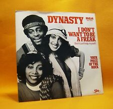 "7"" Single Vinyl 45 Dynasty I Don't Want To Be A Freak 2TR 1979 (MINT) Funk Disco"