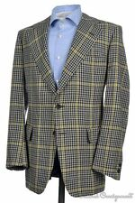 CHESTER BARRIE Gun Club Check CASHMERE TWEED Sport Coat Jacket Blazer Mens 42 R