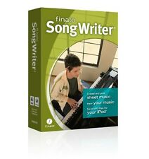 Makemusic Finale SONGWRITER - Music Writing Software - Download