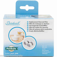 Drinkwell Avalon Replacement Charcoal Filter 4 Pack