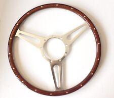 """Holzlenkrad Sportlenkrad Holz """"Derrington""""15"""" Jaguar E-Type MK2 XJS XJ Daimler"""