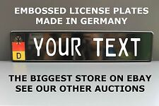 Germany Flag European Number Plate German License Plate Custom Alu option 4