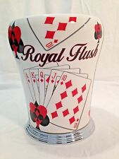 """ROYAL FLUSH"" CHAMPAGNE BOTTLE ICE BUCKET"