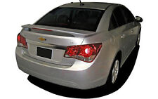 PRE-PAINTED ANY COLOR  REAR SPOILER W/LED LIGHT FOR 2011-2015 CHEVY CRUZE 4DR