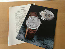 Used in shop - Press Kit MASTER DATE Jaeger-LeCoultre - BÂLE 2000 - Usado