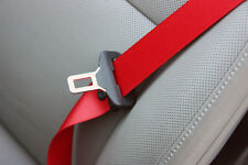 Porsche Ferrari BMW Mercedes 2x Seat Belts Red Black Yellow Webbing replacement