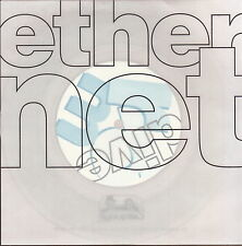 "ether net dive 7"" clear vinyl w/ press info"