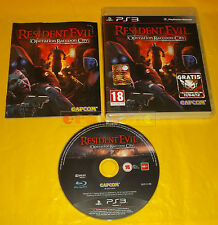 RESIDENT EVIL OPERATION RACCOON CITY Vers Italiana 1ª Edizione ○ COMPLETO - BL