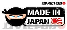 JDM CLUB Official - MADE IN JAPAN Decal - Ninja with English Text