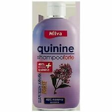 MILVA Shampoo Quinine Forte + 40 % More Quinine Stimulate Hair Growth 200 ml