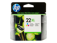 Genuine Original HP 22XL Tri Colour Ink Cartridge C9352CE Deskjet F4180 F4190