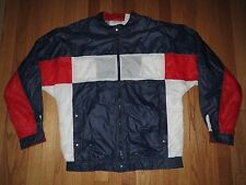 Vintage Le Coq Sportif Full Zip France Germany Soccer Jacket Size L