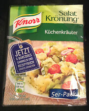 Knorr KITCHEN HERB Salad Dressing Mix from Germany 5 x 10g sachets FREE UK post
