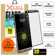 3D Curved Full Coverage Tempered Glass Screen Protector for LG G5 H860