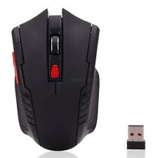 Anti-skid 6 Buttons 2400 DPI 2.4GHz Wireless Optical Mouse Mice + USB Receiver