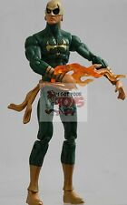 "IRON FIST Series 5 #002 Hasbro MARVEL UNIVERSE 2003 3.75"" INCH Loose FIGURE"
