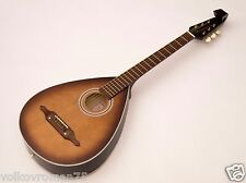 TREMBITA acoustic 6 string Lute guitar steel or nylon Kobza, SB Matt, VIDEO