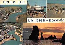 BR2154 Belle Ile la Bien Nommee Le port de Sauzon le portdu palais    france
