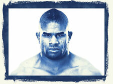 Framed Print - Alistair Overeem UFC Heavyweight Fighter (MMA Picture Poster Art)