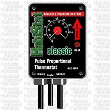 Habistat 600w High Range Pulse Proportional Thermostat (Black)