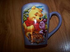 Disney's Pooh and Piglet Purple Coffee Mug