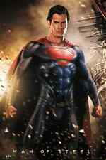 SUPERMAN MAN OF STEEL EXPLOSION LARGE MAXI POSTER NEW FP3023 (O3)