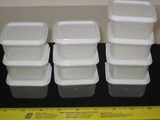 Sure-Fresh 10 Mini Storage Containers w/Lids - Arts/Crafts/Nuts/Bolts/Beads/Food