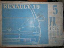 Renault 19 R19 hayon 3P : catalogue pièces PR1212-5