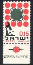 Israel 1966 Cancer/Medical/Health/Welfare/Microscope 1v + tab (n39375)