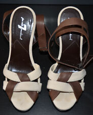 Authentic 7 For All Mankind Women's Brown Platform Shoes (Size US 7M)Ankle Strap