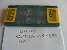 Walter ADHT 120425R - G88  Wk10 Carbide Inserts