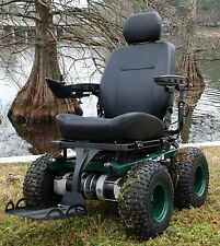 Cajun Commando 4x4  -All Terrain Wheelchair-  Power Wheelchair - Cajun Mobility