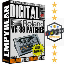 OFFICIAL Roland VG-99 ULTIMATE Patches Guitar Tone Presets Effects Settings