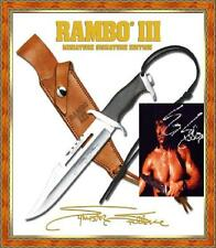Master Cutlery MC-RBM3SS Rambo I Miniature Signature Edition Knife & Sheath