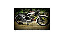 1959 triumph tiger cub Bike Motorcycle A4 Photo Poster