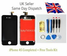 Replacement LCD Touch Screen Digitizer Assembly For Black iPhone4S+Tools